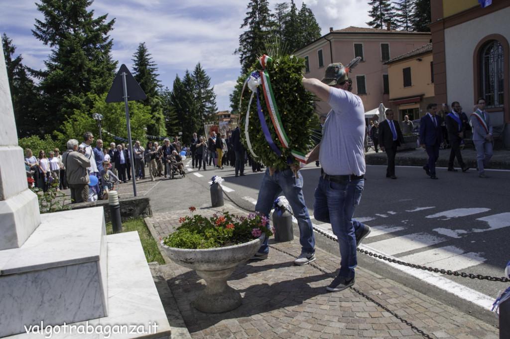 70° Ricostruzione  Albareto (701) Commemorazione