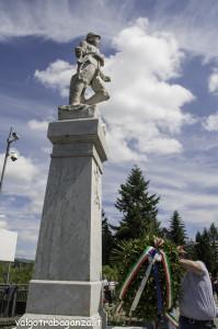 70° Ricostruzione  Albareto (704) Commemorazione