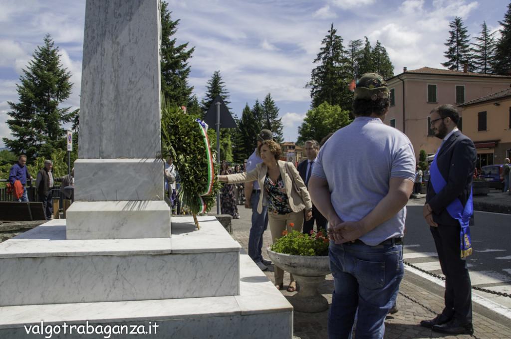 70° Ricostruzione  Albareto (727) Commemorazione