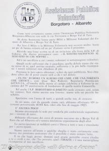 Assistenza Pubblica Volontaria Borgotaro Albareto (100)1982