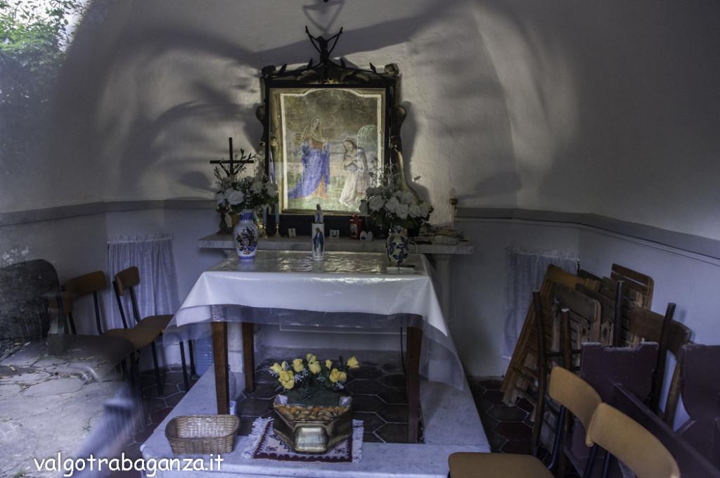 Borgotaro Madonna di Caravaggio (128) Maestà