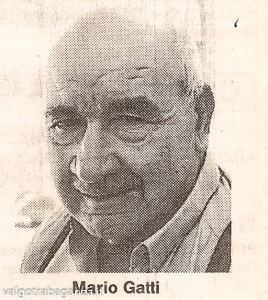Gatti Mario (1913 – 1995) da articolo giornale
