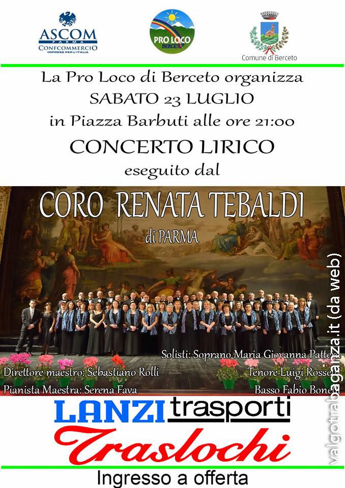 Concerto Lirico Berceto