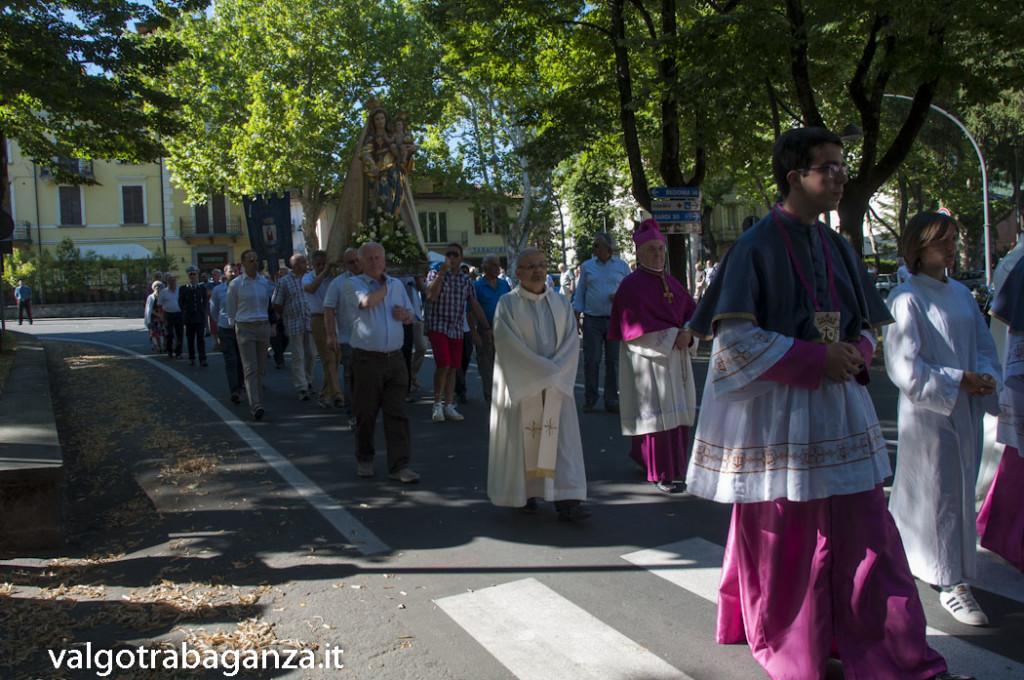 Festa Madonna Carmelo (362) Solenne processione
