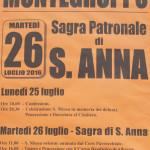 Programma Sant'Anna Montegroppo 2016