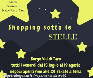 Shopping sotto le stelle 2016