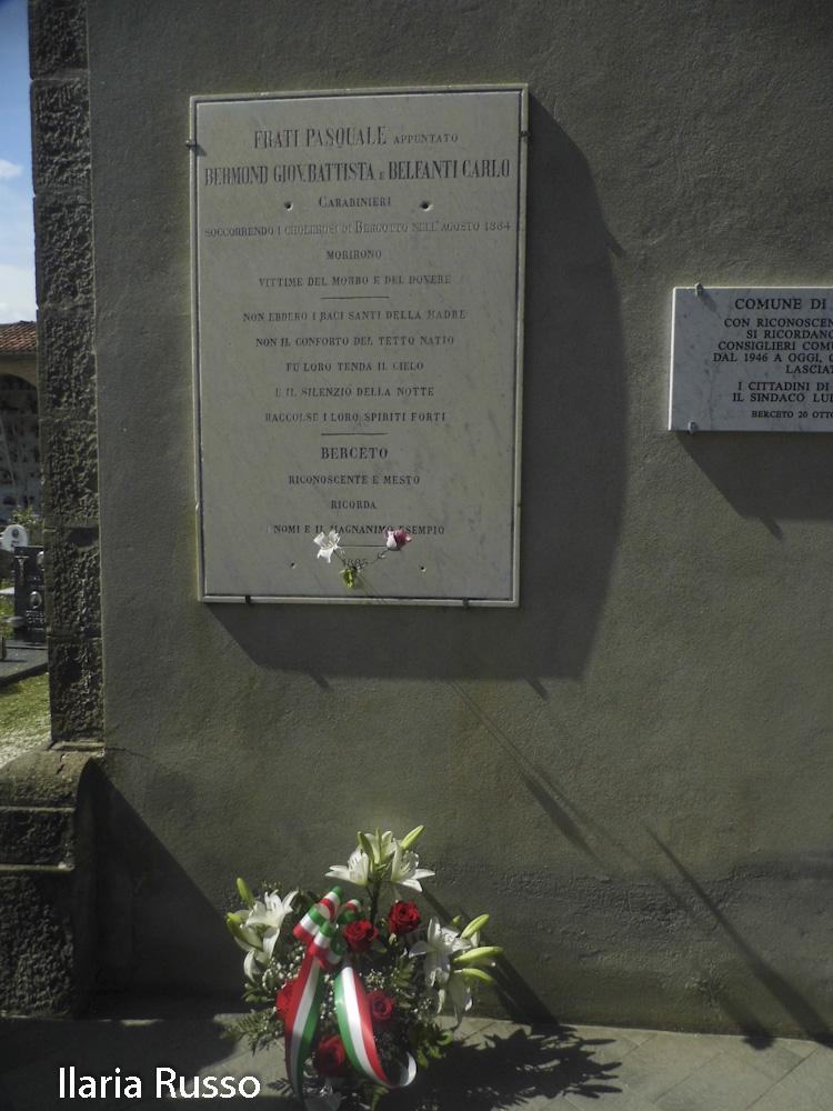 Berceto (147) omaggia carabinieri morti 1884