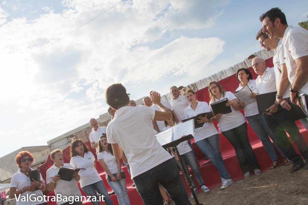 Coro Voci della Val Gotra (200) Fiera Fungo Porcino Albareto