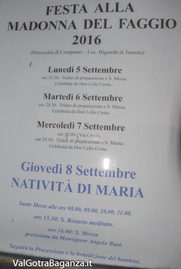 Festa alla Madonna del Faggio 2016