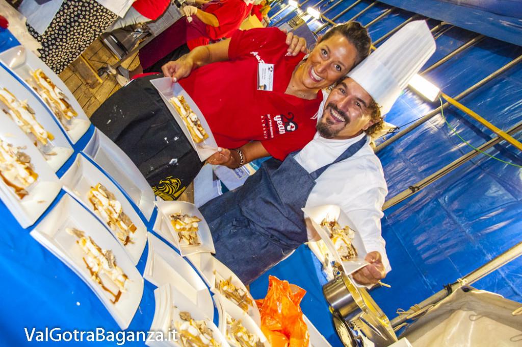 Fiera Fungo Porcino Albareto (120) Chef Cristian Broglia