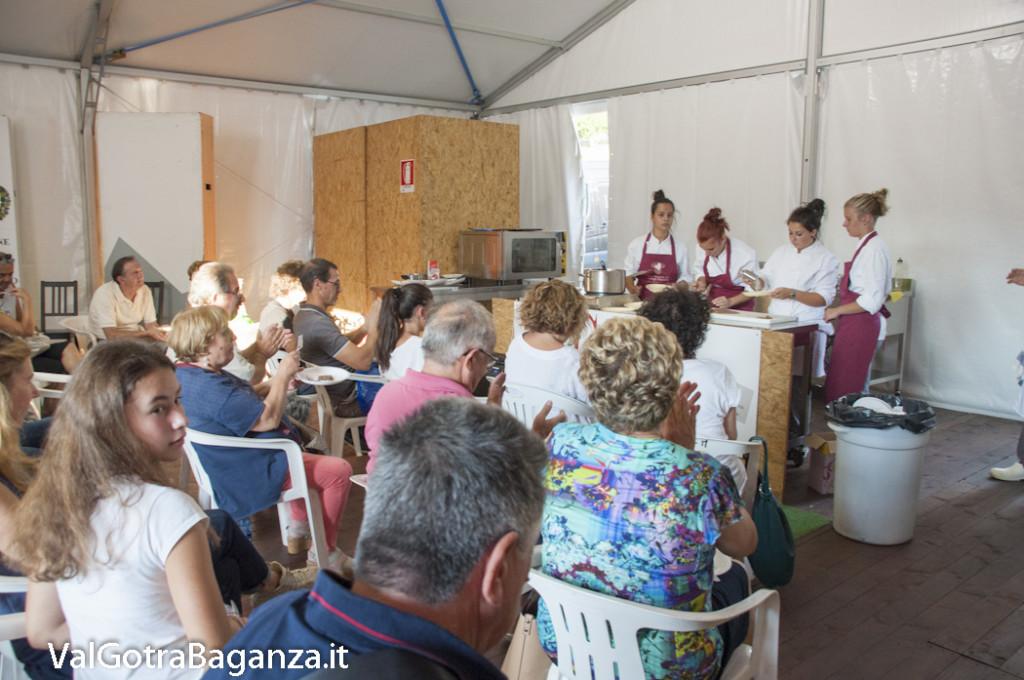 Show Cooking Istituto Enogastronomico (115) Fiera Fungo Porcino Albareto