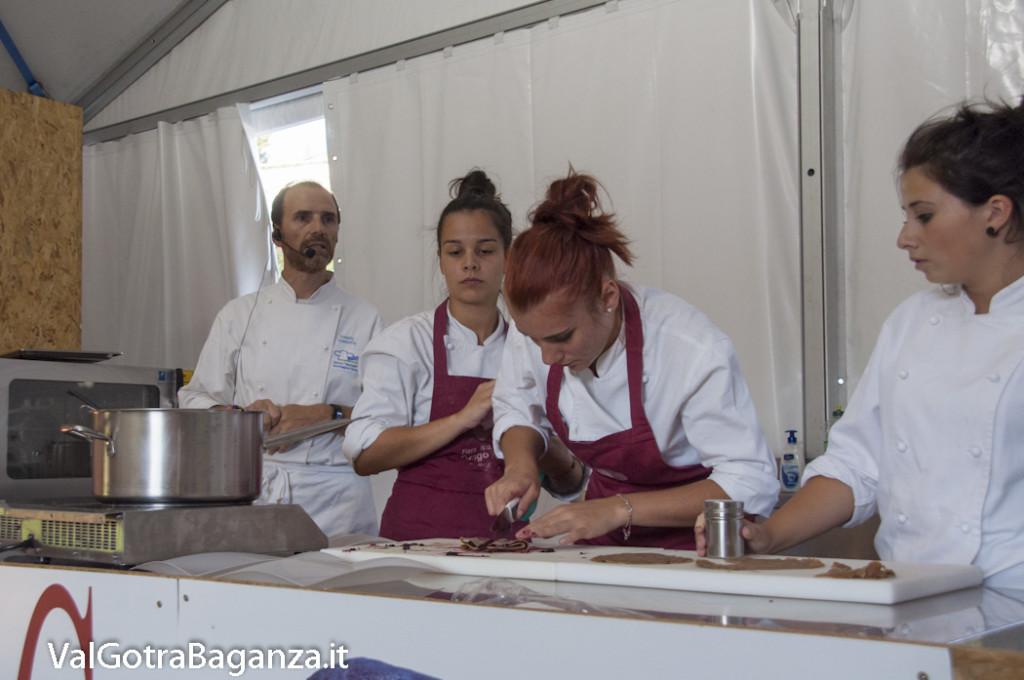 Show Cooking Istituto Enogastronomico (127) Fiera Fungo Porcino Albareto