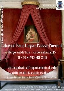 Borgotaro Palazzo Picenardi visita