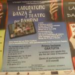 Locandine laboratori Teatrodanza e corporeità (104) Compagnia Tuttoattaccato