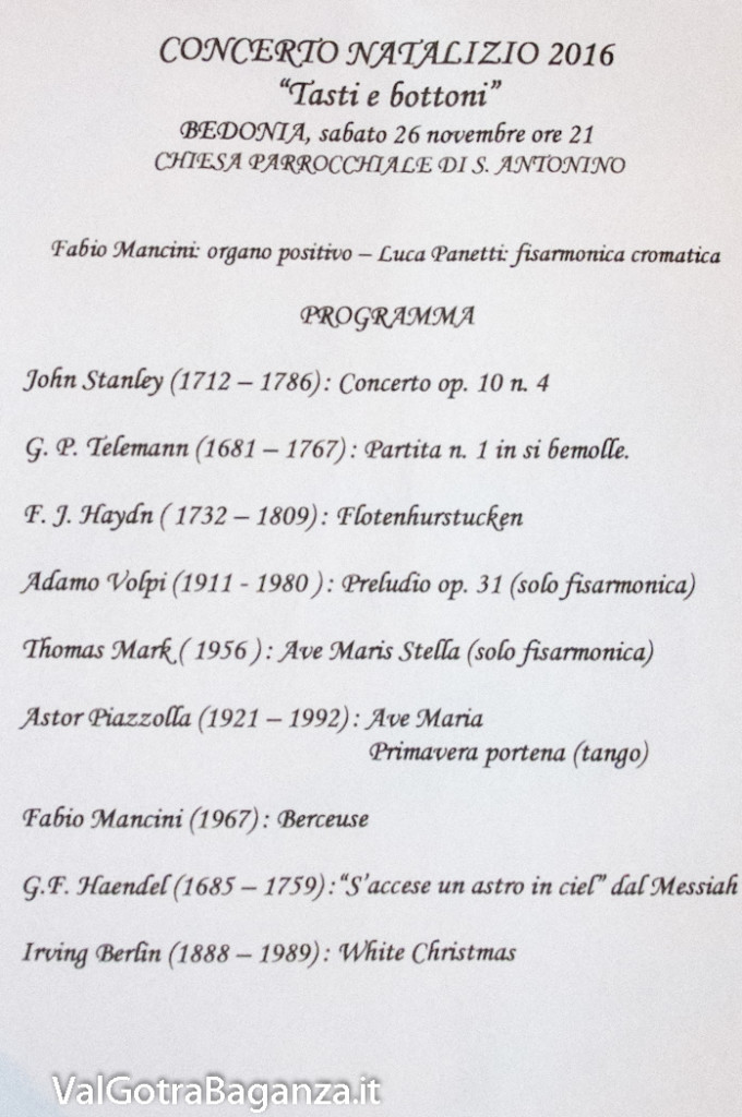 Bedonia Concerto (108) Panetti e Mancini