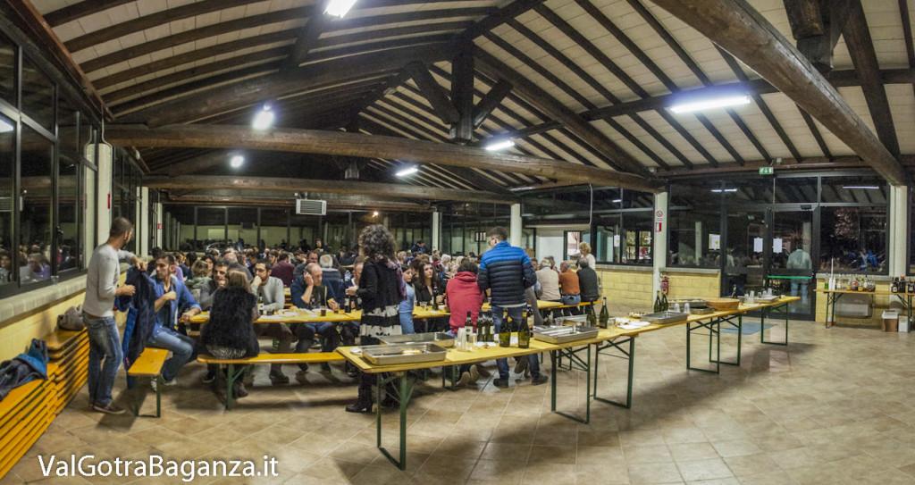Cena volontari Fiera Fungo Porcino (100) Albareto Panoramica