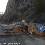 Chiusa al traffico Sp 15 Castello Ravarano Chiastre_