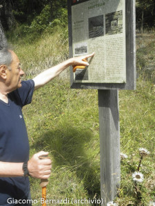 Giacomo Bernardi passi storici Bratello Borgallo