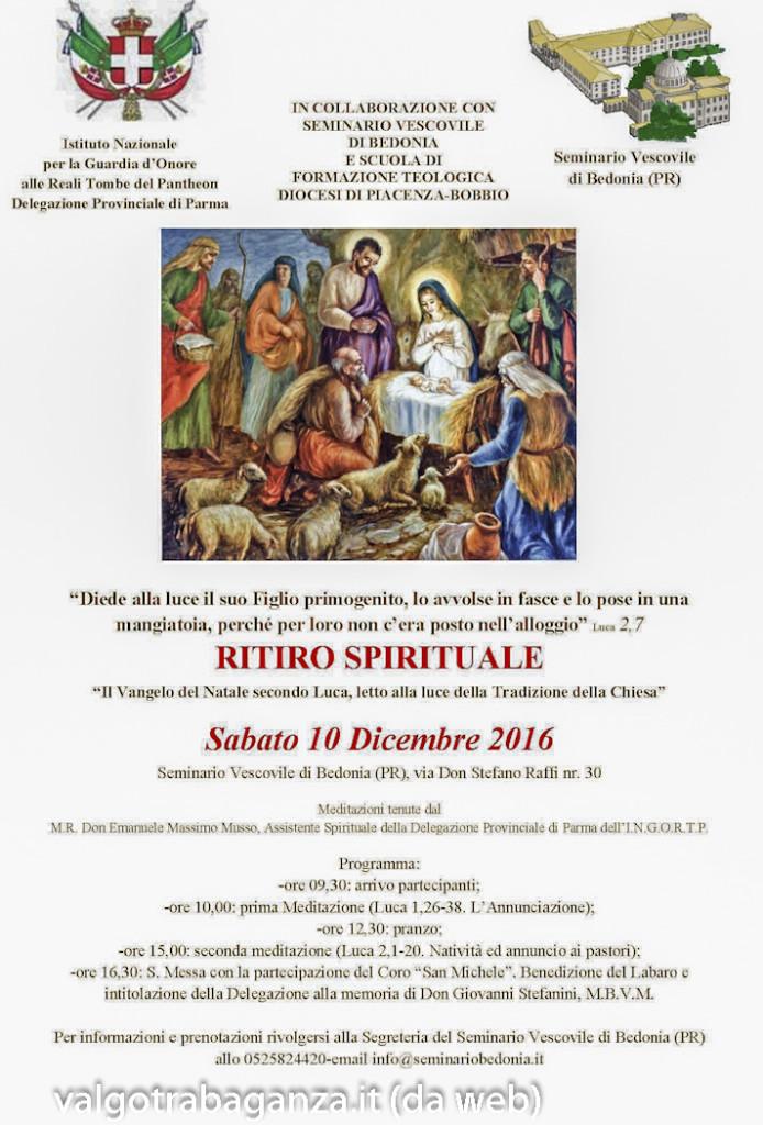 Ritiro Spirituale eCerimonia intitolazione Giovanni Stefanini