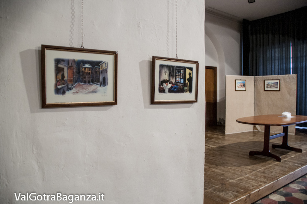 Mostra-mercato stampe (120) S' v'duma p'r l' fest' Ar Natal' burg'zan