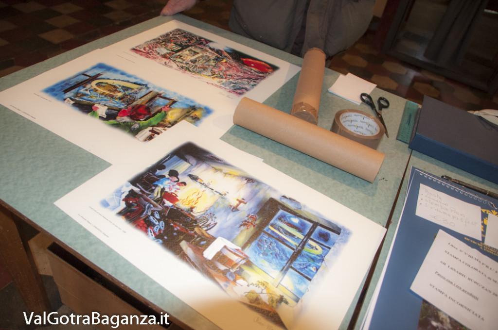 Mostra-mercato stampe (150) S' v'duma p'r l' fest' Ar Natal' burg'zan