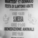 17 gennaio Festa di S.Antonio Abate Anzola