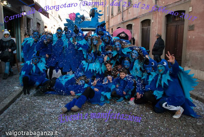 Borgo Val di Taro Carnevale eventi 2017