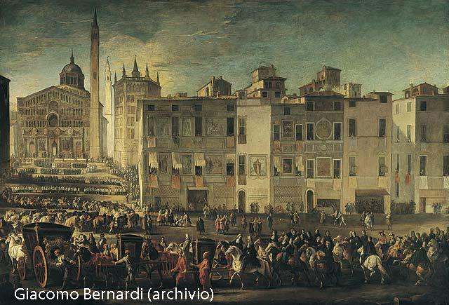 Ilario Spolverini corteo nuziale di Elisabetta Duomo di Parma_