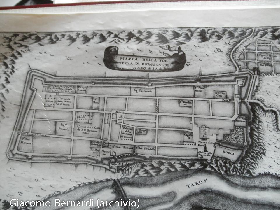 Mappa Borgotaro Elisabetta