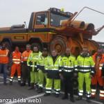 Provincia di Parma aiuto terremotati sotto neve