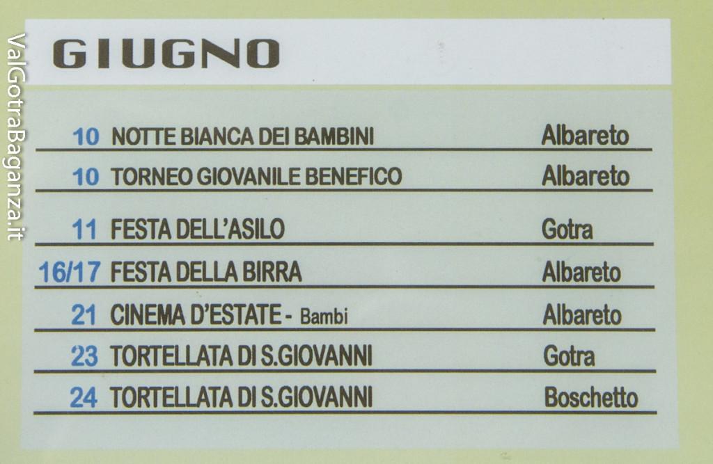 Albareto (105) Eventi 2017