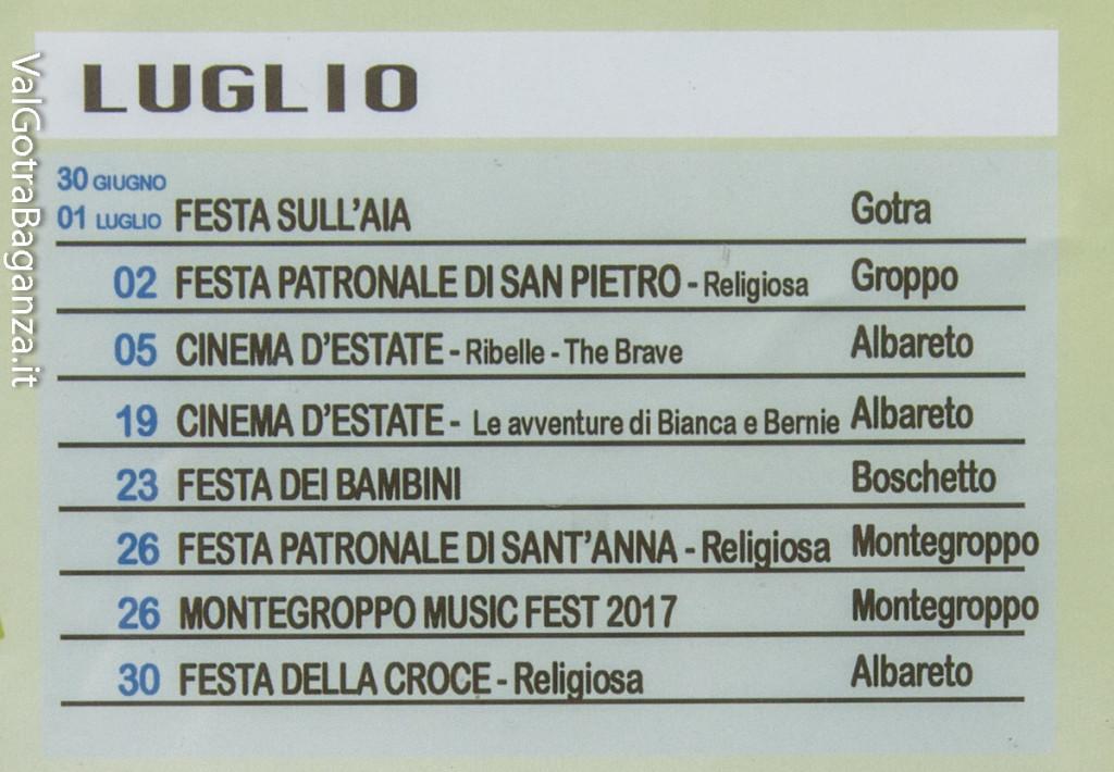 Albareto (106) Eventi 2017