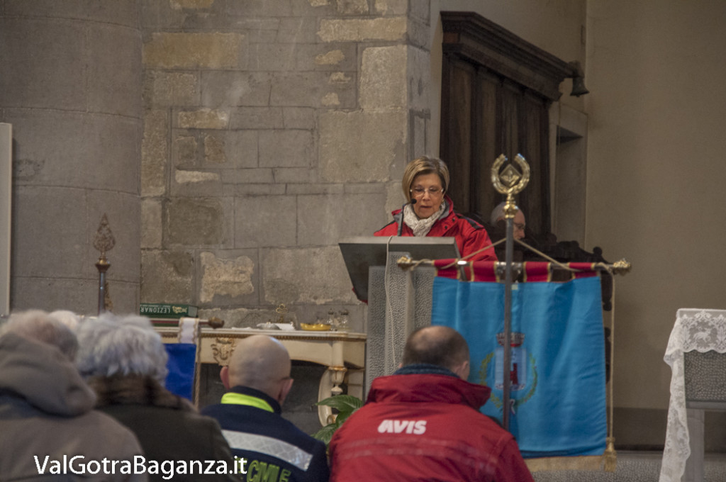Avis Borgotaro Albareto (104) Santa Messa