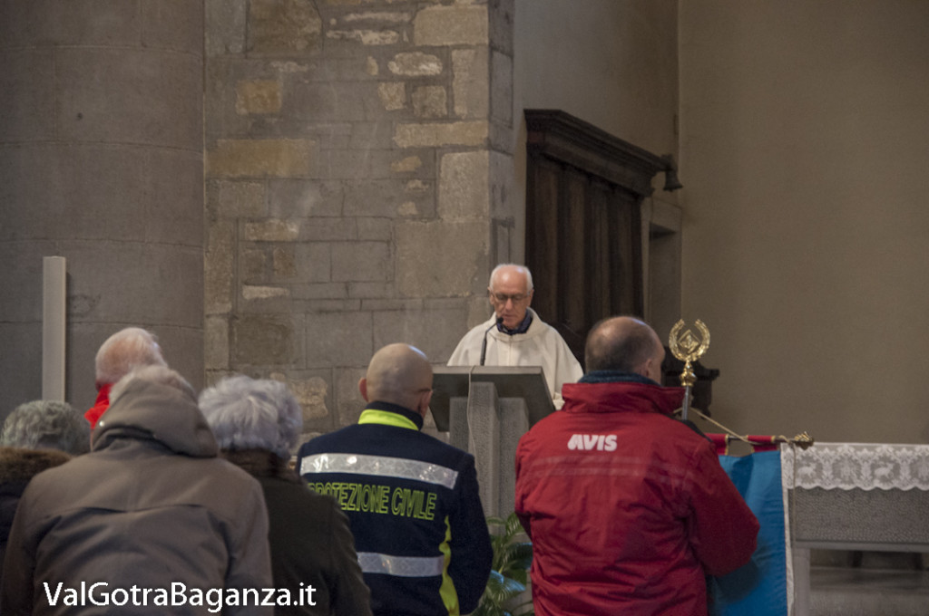 Avis Borgotaro Albareto (114) Santa Messa