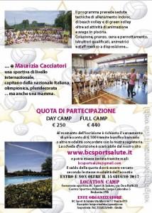 Bedonia Camp di pallavolo femminile Maurizia Cacciatori  (2)