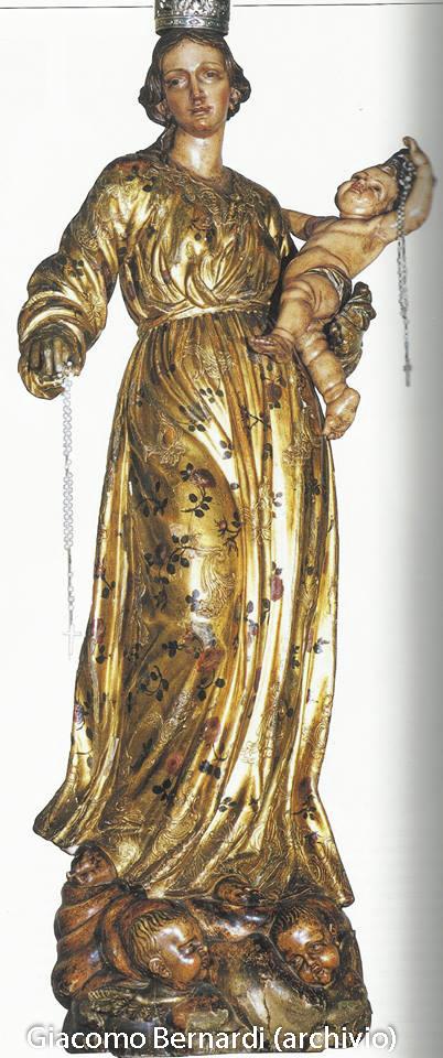 Bernardi La Madonna nera del Rosario