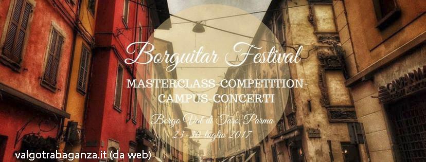 Borguitar Festival 2017
