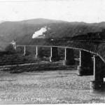 Vecchio ponte sul Taro cartolina_