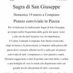 Sagra di San Giuseppe Compiano