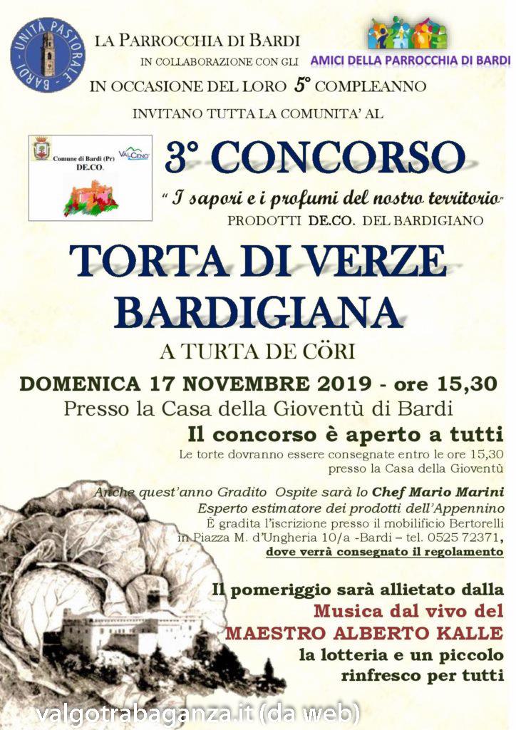 3° Concorso La torta di verze – Bardi (Parma)
